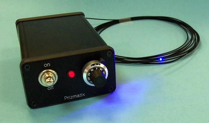 portable fiber coupled high power uv led light source. Black Bedroom Furniture Sets. Home Design Ideas